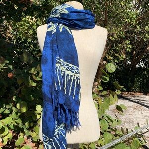 Blue skies and sunshine Scarf By; Beach Gypsy